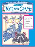 January Monthly Arts and Crafts, The Mailbox Books Staff, 1562343769