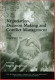 Negotiation, Decision Making and Conflict Management, Bazerman, Max H., 184376377X