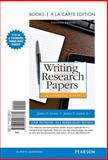 Writing Research Papers : A Complete Guide, Books a la Carte Edition, Lester, James D., 0321993772