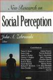 New Research on Social Perception, Zebrowski, John A., 1600213774