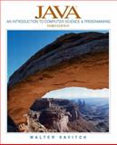 Java : An Introduction to Computer Science and Programming, Savitch, Walter J., 0131013785
