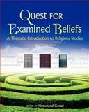 Quest for Examined Beliefs, Gossai, Hemchand, 1621313786