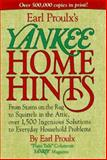 Earl Prouly's Yankee Home Hints, Yankee Magazine Editors and Earl Proulx, 0899093787