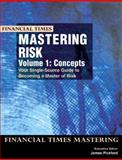 Mastering Risk Vol. 1 : Concepts, James Pickford, 0273653792