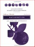 Mathematics : An Applied Approach, Sullivan, Michael and Mizrahi, Abe, 0471333794