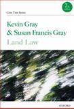 Land Law, Gray, Kevin and Gray, Susan Francis, 0199603790