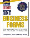 Ultimate Book of Business Forms, Entrepreneur Press Staff and Thomas, Karen, 159918379X
