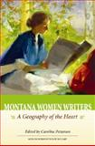 Montana Women Writers, edited by Caroline Patterson, 1560373792