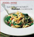Italian Cookbook, Food and Wine Magazine Staff, 091610379X