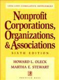 Nonprofit Corporations, Organizations and Association, Oleck, Howard L., 0136233805