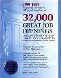 The 1998-1999 National Directory of Legal Employers, National Association for Law Placement Staff, 0159003806