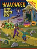 Halloween Super Sticker Book, George Toufexis, 0486483800
