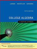 College Algebra : A Graphing Approach, Enhanced Edition (with Enhanced WebAssign 1-Semester Printed Access Card), Larson, Ron and Hostetler, Robert P., 1439043809
