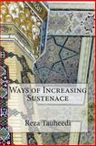 Ways of Increasing Sustenace, Reza Tauheedi, 1502523809