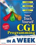Sams Teach Yourself CGI Programming in a Week, Menon, Krish and Coburn, Rafe, 1575213818