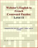 Webster's English to French Crossword Puzzles, Icon Reference Staff, 049725381X