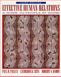 Effective Human Relations : A Guide to People at Work, Paulus, Paul B. and Seta, Catherine E., 0205163815