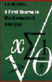 A First Course in Mathematical Analysis, Burkhill, John C., 0521043816