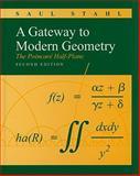 A Gateway to Modern Geometry : The Poincare Half-Plane, Stahl, Saul, 0763753815