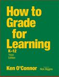 How to Grade for Learning, K-12, , 1412953812