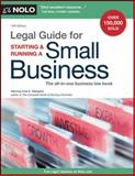 Legal Guide for Starting and Running a Small Business 12th Edition