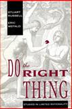 Do the Right Thing : Studies in Limited Rationality, Russell, Stuart J. and Wefald, Eric H., 026251382X