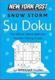 New York Post Snow Storm Su Doku (Difficult), HarperCollins Publishers Ltd. Staff, 0062213822