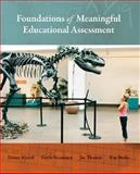 Foundations of Meaningful Educational Assessment, Musial, Diann and Thomas, Jay, 0073403822