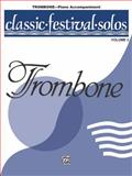 Classical Festival Solos, Alfred Publishing Staff, 0769253822