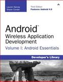 Android Wireless Application Development Volume I, Shane Conder and Lauren Darcey, 0321813839