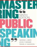 Mastering Public Speaking 9th Edition
