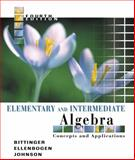 Elementary and Intermediate Algebra : Concepts and Applications, Bittinger, Marvin A. and Johnson, Barbara L., 0321233832