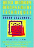 Quick Memory Management Techniques, Brian Underdahl, 0471053848