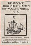 The Diario of Christopher Columbus's First Voyage to America, 1492-1493, Columbus, Christopher, 0806123842