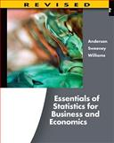 Essentials of Statistics for Business and Economics, Anderson, David R. and Sweeney, Dennis J., 1111533849