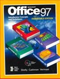 Microsoft Office 97 Introductory Concepts and Techniques Essentials Edition, Shelly, Gary B. and Cashman, Thomas J., 0789543850