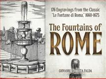 The Fountains of Rome, Giovanni Battista Falda, 0486493857