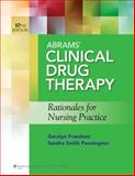 Abrams Clinical Drug Therapy 10e Text and PrepU Package, Abrams, Anne C., 1469833859