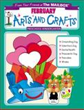 February Monthly Arts and Crafts, The Mailbox Books Staff, 1562343858