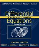 Differential Equations : A Modeling Perspective, Borrelli, Robert L. and Coleman, Courtney S., 0471483869