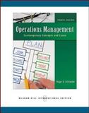 Operations Management : Contemporary Concepts and Cases, Roger G. Schroeder, 0071263861