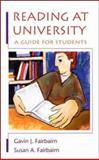 Reading at University 9780335203864
