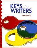 Keys for Writers, Raimes, Ann, 0618753869