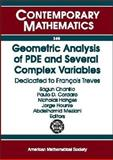 Geometric Analysis of PDE and Several Complex Variables : Dedicated to François Treves, Trèves, François, 0821833863