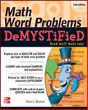 Math Word Problems, Allan Bluman, 0071763864