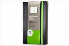 Moleskine Evernote Professional Notebook Large Black Hard Cover, Moleskine, 8867323865