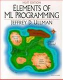 Elements of ML Programming 9780137903870