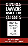 Divorce Lawyers and Their Clients : Power and Meaning in the Legal Process, Sarat, Austin and Felstiner, William L. F., 0195063872