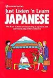 Just Listen 'n Learn Japanese, Horoshi Kato and Norika Takada, 0844283878