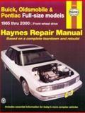 Buick, Oldsmobile and Pontiac FWD Models Automotive Repair Manual 9781563923876